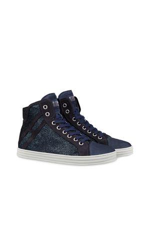 Sneaker alte R141 in glitter HOGAN REBEL | 5032247 | HXW1820I650GAQU810