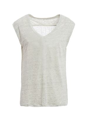 Linen sleeveless T-shirt MAJESTIC | 8 | 0510230