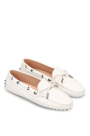 Heaven Laccetto saffiano loafers TOD