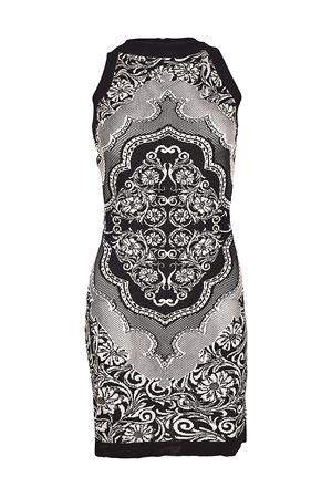 Patterned knit fitted dress BALMAIN | 11 | 123674998MC5101