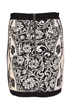 Patterned knit mini skirt BALMAIN | 15 | 124664998MC5101