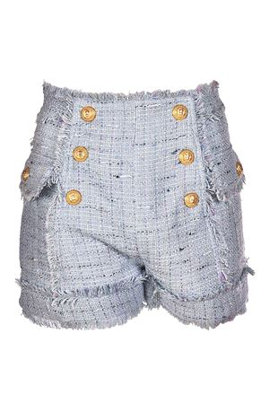 Pantaloncini bouclé con frangette BALMAIN | 30 | 125400210CC3125