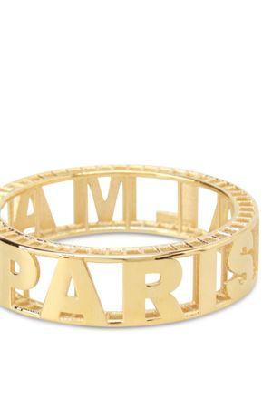 Gold-tone brass logo bangle BALMAIN | 36 | 129570156YC0700
