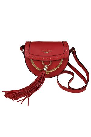 Leather cross body with coin purse BALMAIN | 70000001 | FS148PGLV132