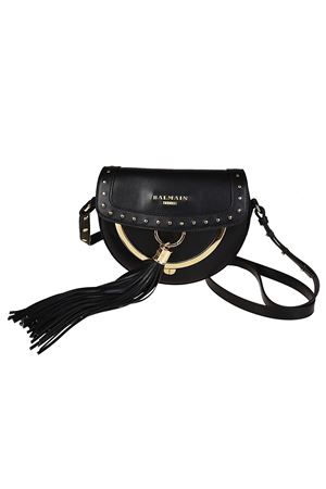 Cross body bag with coin purse BALMAIN | 70000001 | FS148PGLV176