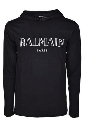 Cotton hooded T-shirt BALMAIN | 8 | H8099I157176