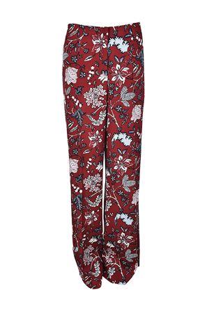 Pantaloni ampi in misto seta DIANE VON FURSTENBERG | 20000005 | 10933CANBO