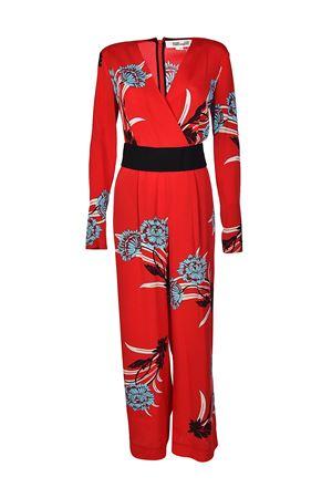 Belted printed crepe jumpsuit DIANE VON FURSTENBERG | 19 | 11104FARLI