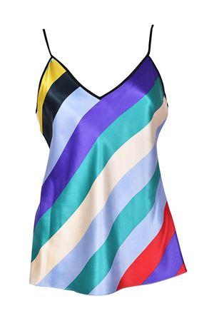 Top in raso di seta multicolor DIANE VON FURSTENBERG | 40 | 11110CSMBK