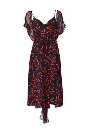 Patterned silk A-line dress DIANE VON FURSTENBERG | 11 | 11118SHEBL