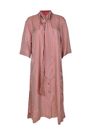 Striped silk oversized shirt dress DIANE VON FURSTENBERG | 11 | 11178EMBSO