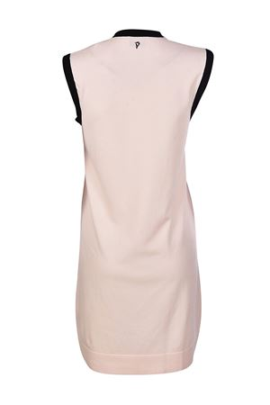 Sporty sleeveless jersey pink dress DONDUP | 11 | A774M565D002DD510