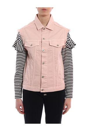 Logo detail denim sleeveless jacket DONDUP | 38 | DJ093BS009DSZADD558