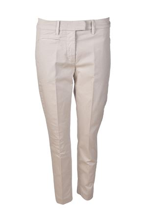 Perfect pearl grey chino trousers DONDUP | 20000005 | DP066GS021DPTDDD006