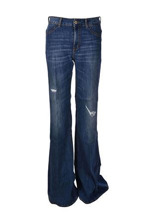 Jeans a vita media Blue a zampa DONDUP | 24 | DP285DS107DR05TDHI800