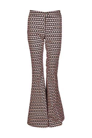 Pantaloni a zampa Silence in jersey DONDUP | 20000005 | DP296FS154DXXXDD999