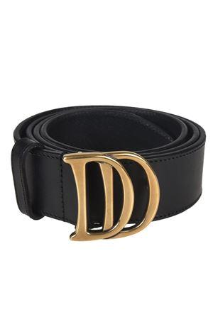 Cintura in pelle con fibbia DD DSQUARED2   22   BEM000720400001M1042