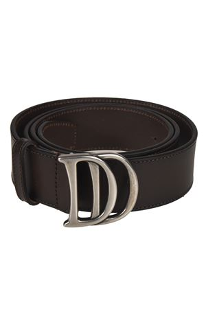 DD buckle brown leather belt DSQUARED2 | 22 | BEM000720400001M1272