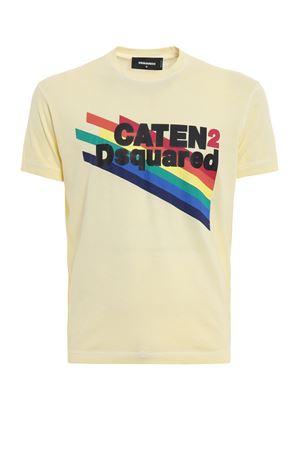 Caten rainbow T-shirt DSQUARED2 | 8 | S71GD0630S22427169