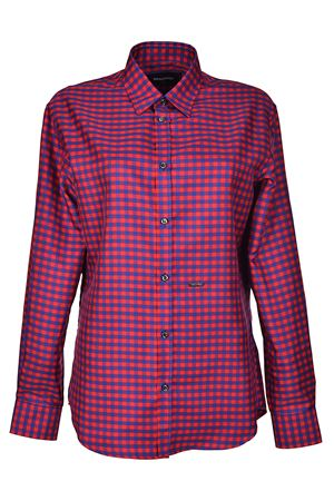 Chequered techno fabric shirt DSQUARED2 | 6 | S72DL0546S48662001F