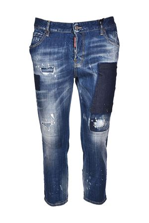 Cool Girl worn out cropped jeans DSQUARED2 | 24 | S72LB0061S30342470