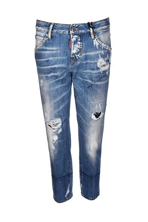 Cool Girl cropped distressed jeans DSQUARED2 | 24 | S75LA0971S30309470