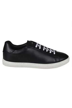 Sneaker in pelle nera New Tennis DSQUARED2 | 5032238 | SNM0005065000012124
