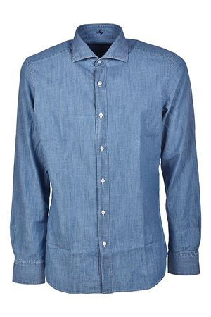 Indigo pure cotton shirt FAY | 6 | NCMA136262LPJMU206