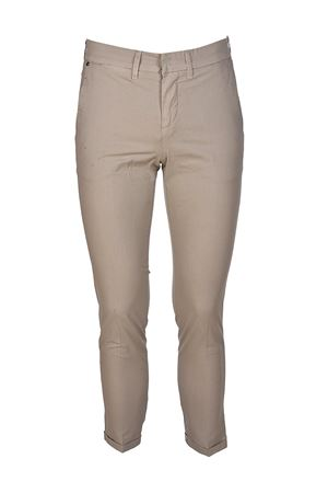 Chino in cotone stretch beige FAY | 20000005 | NTM8636187TGURC001