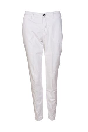 White stretch cotton trousers FAY | 20000005 | NTW8036528TGUPB001