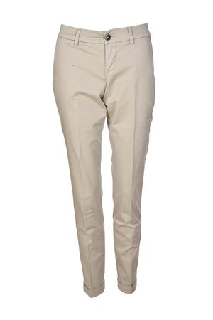 Beige stretch cotton trousers FAY | 20000005 | NTW8036528TGUPC001