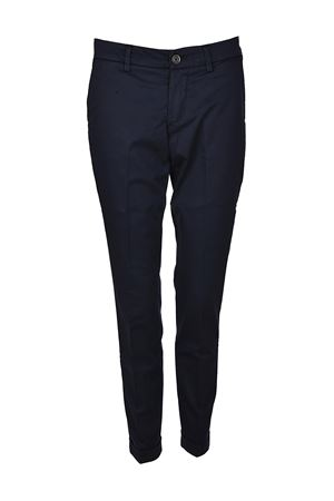Blue stretch cotton trousers FAY | 20000005 | NTW8036528TGUPU810