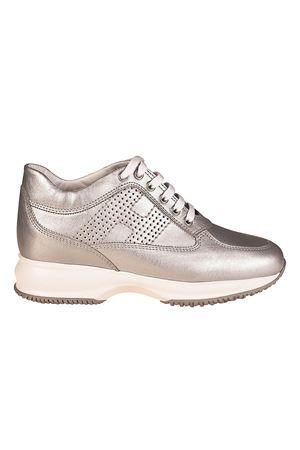 Sneakers - H320 HXW3200AG80IW50351 paolo-fiorillo-boutiques grigio Pelle