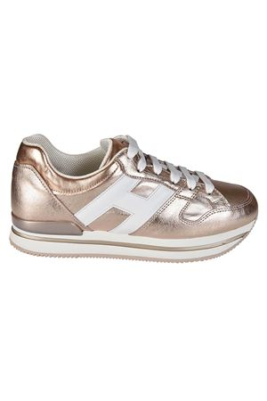 H222 bronze leather sneakers HOGAN | 120000001 | HXW2220T548I8G089A