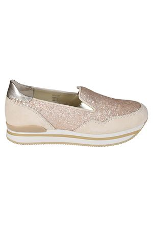 Slip-on H222 in glitter e camoscio HOGAN | 12 | HXW2220T671IGT0A1B