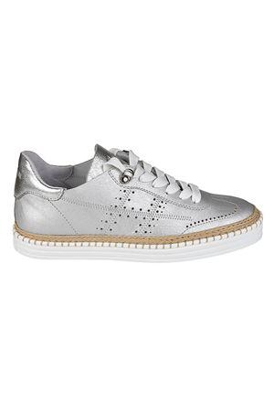 Sneaker R260 in pelle argentata HXW2600AD30IEUB200 HOGAN | 120000001 | HXW2600AD30IEUB200