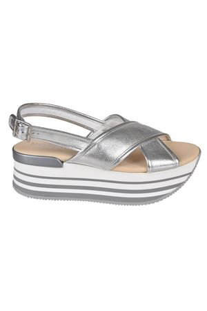 Sandali flatform argento H294 HXW2940U450ISNB200 HOGAN | 5032241 | HXW2940U450ISNB200