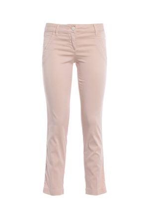 Chloe Summer pink cotton trousers JACOB COHEN | 20000005 | CHLOESUMMER00964S502