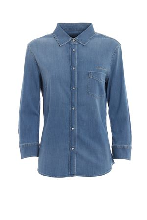 Camicia in denim con automatici JACOB COHEN | 6 | J31100944W5005