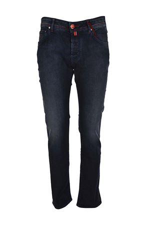 Jeans con cuciture a contrasto JACOB COHEN | 24 | J622COMF00526W2002