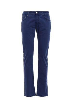 Handkerchief detailed trousers JACOB COHEN | 20000005 | PW622COMF06510V859