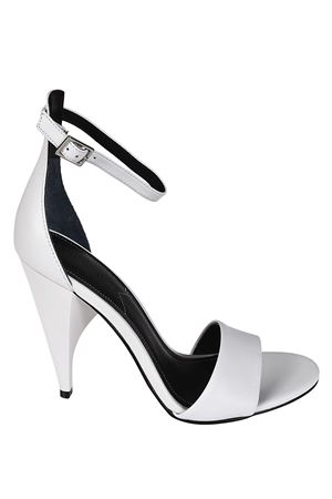 Emilee sculpture heel white sandals KENDALL + KYLIE | 5032241 | EMILEE01WHILE