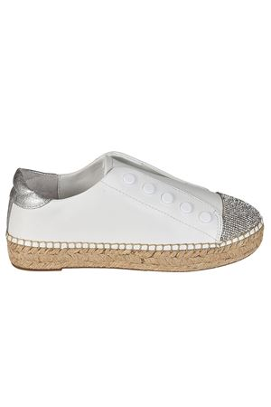 Juniper slip-on leather espadrilles KENDALL + KYLIE | 5032246 | JUNIPER203WHMLE