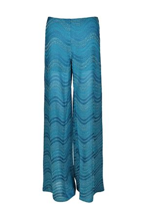 Wave patterned palazzo trousers M MISSONI | 20000005 | PD0MD0062PR0GD