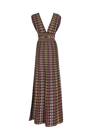 Combined belt knitted maxi dress M MISSONI | 11 | PD3KD25R2P30NO