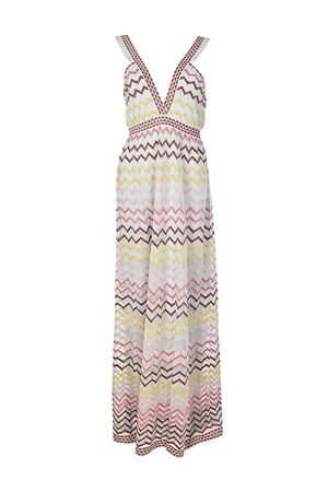 V-neckline knitted maxi dress M MISSONI | 11 | PD3KD25T2P6P02