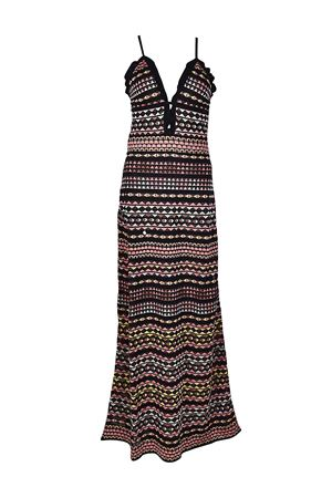 Cut-out detailed knitted maxi dress M MISSONI | 11 | PD3KD2Y02P50NO
