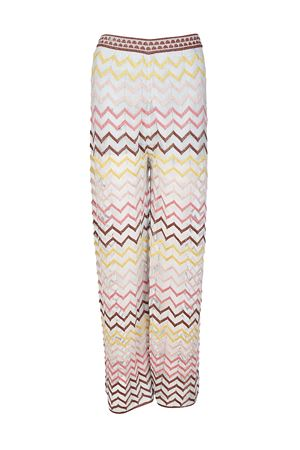 Lurex knitted palazzo trousers M MISSONI | 20000005 | PD3KF03P2P6P02