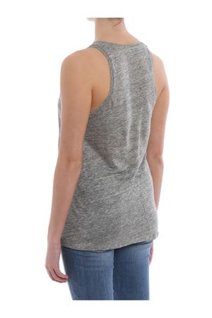 Pure linen tank top MAJESTIC | 46 | 0509536