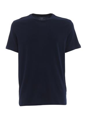 Navy blue deluxe cotton T-shirt MAJESTIC | 8 | 09001003